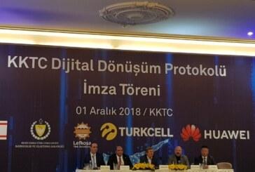 Turkcell ve Huawei'den KKTC'nin dijital dönüşümü için önemli işbirliği