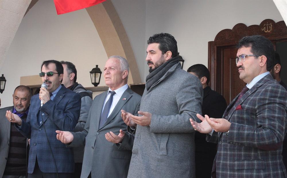 Lefkoşa Sanayi Camisi ibadete açıldı