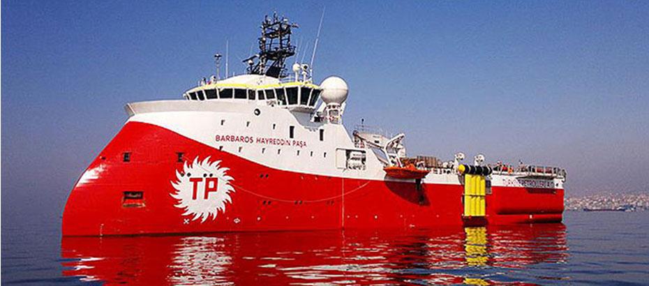 """""""Barbaros Hayreddin Paşa"""" gemisinin faaliyetleri BM'ye şikâyet edildi"""
