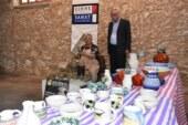 Sanatçı Eminağa'dan Girne Belediyesi sanat galerisi'nde sergi ve atölye çalışması