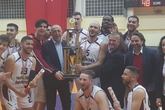 Pota'da Kupa Şampiyonu YDÜ