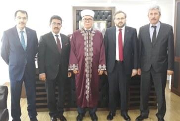 Argun, Din İşleri Başkanı Prof. Dr. Talip Atalay'ı ziyaret ederek görüştü