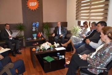 Tatar, Turgay Deniz başkanlığındaki Ticaret Odası Yönetim Kurulu'nu kabul etti