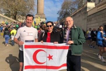 KKTC Londra Temsilcisi Tuncalı'dan koşucu Baysan'a destek