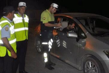 Lefkoşa'da 6 araç trafikten men edildi