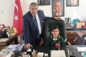 Gazimağusa Belediye Başkanlığı makamı çocuklara emanet edildi