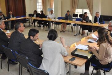 Bazı Kıbrıs Türk ve Rum siyasi partilerinin, aylık rutin toplantısı bugün yapıldı