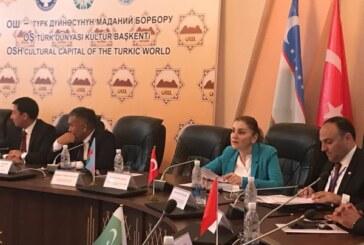 Kültür Dairesi Müdürü Hamzaoğulları, Kırgızistan'da KKTC'yi temsil etti