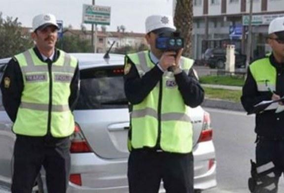 Trafik kontrollerinde 724 kez cezai işlem uygulandı