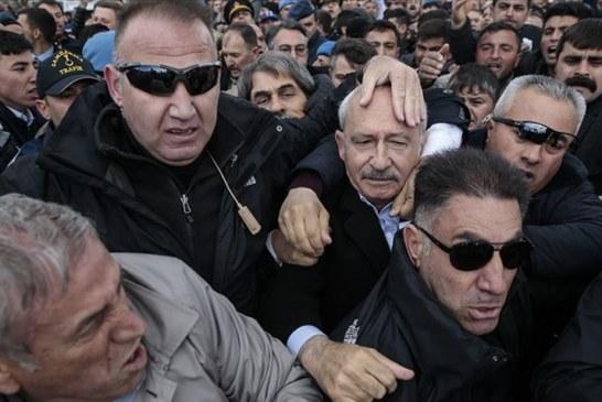 CHP Genel Başkanı Kemal Kılıçdaroğlu,saldırıya uğradı