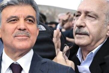 Abdullah Gül, Kılıçdaroğlu'na yapılan saldırıya tepki gösterdi: Umarım artık fark edilir!