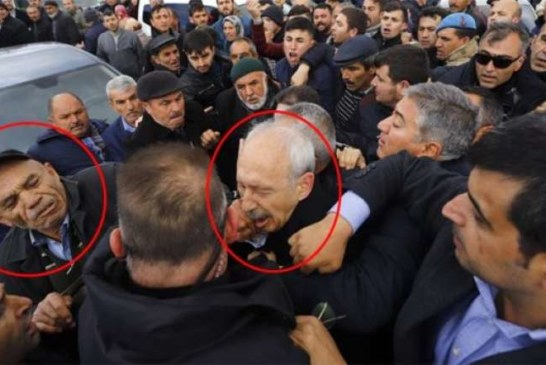 Kemal Kılıçdaroğlu'na yumruk atan saldırganın kimliği ortaya çıktı