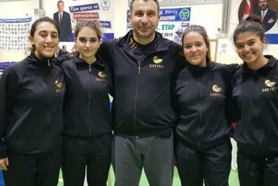 SAYTEV Masa Tenisi Takımı Türkiye üçüncü liginde şampiyon oldu