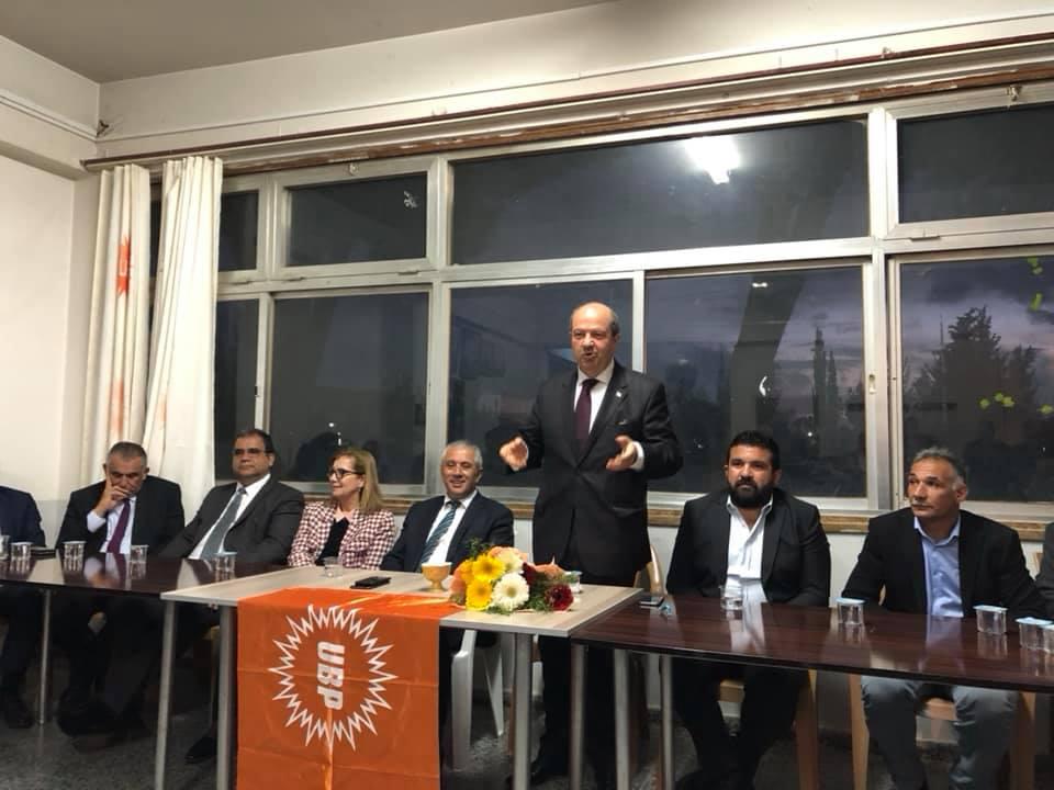 UBP Genel Başkanı Tatar: KKTC'yi geleceğe UBP taşıyacak