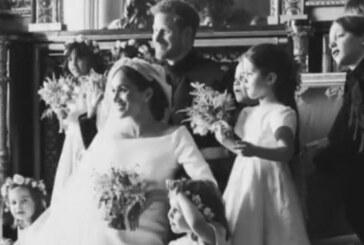 Prens Harry ve Meghan Markle evlilik yıl dönümlerinde yeni düğün fotoğrafları paylaştı