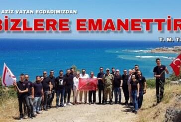 Kıbrıs TMT Mücahitler Derneği Gençlik Kolu, Erenköy'ü ziyaret etti