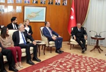 Başbakan Erhürman, TÜSİAV ve GGYD heyetlerini kabul etti