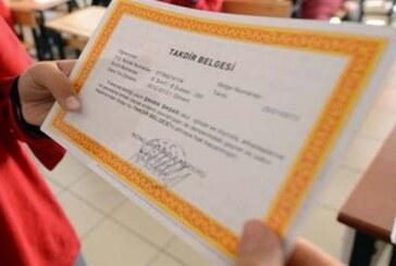 İlköğretimde eğitim gören 27 bin 448 öğrenci yarın karnelerini alacak