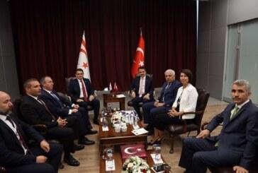 Oğuz, Ankara'da mevkidaşları ile üst düzey yuvarlak masa toplantısına katıldı