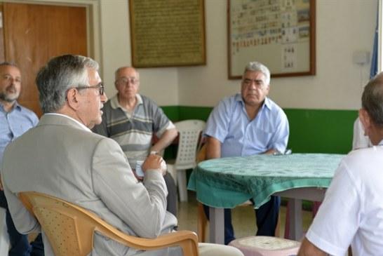 Cumhurbaşkanı Mustafa Akıncı, Taşkent'i ziyaret ederek, vatandaşlarla bir araya geldi