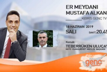 Cumhuriyet Meclisi Başkanı Teberrüken Uluçay,bu akşam Er Meydanı'nda
