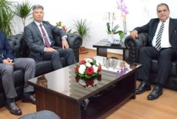 Sivil Savunma Teşkilatı yetkilileri Bakan Sucuoğlu'nu ziyaret etti