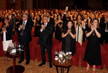 Cumhurbaşkanı Akıncı, Limasol Türk Kooperatif Bankası'nın 80. Gurur Yılı Gala Gecesi'ne katıldı