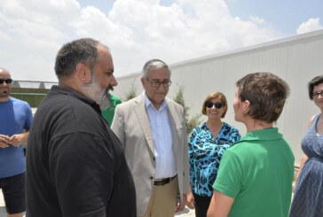 Cumhurbaşkanı Akıncı, Taşkent Doğa Parkı ve Yaban Hayat Rehabilitasyon Merkezi'ni ziyaret etti