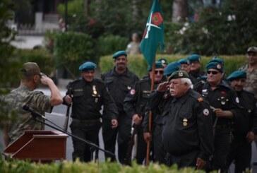 TMT Mücahitler Derneği Gemikonağı – Lefke Şubesi, Kıbrıs Türk Barış KuvvetleriKomutanlığı'nı ziyaret etti