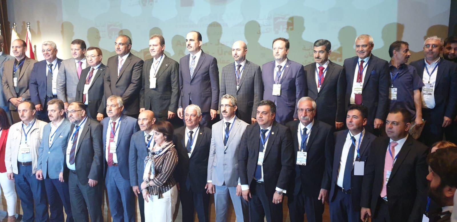 KKTC'den üç belediye Ürdün'de UCLG-Mewa Kongresi'ne katıldı
