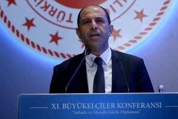 """Özersay Ankara'da açıkladı… """"Kıbrıs'ta Federal ortaklığın şartları mevcut değil"""""""