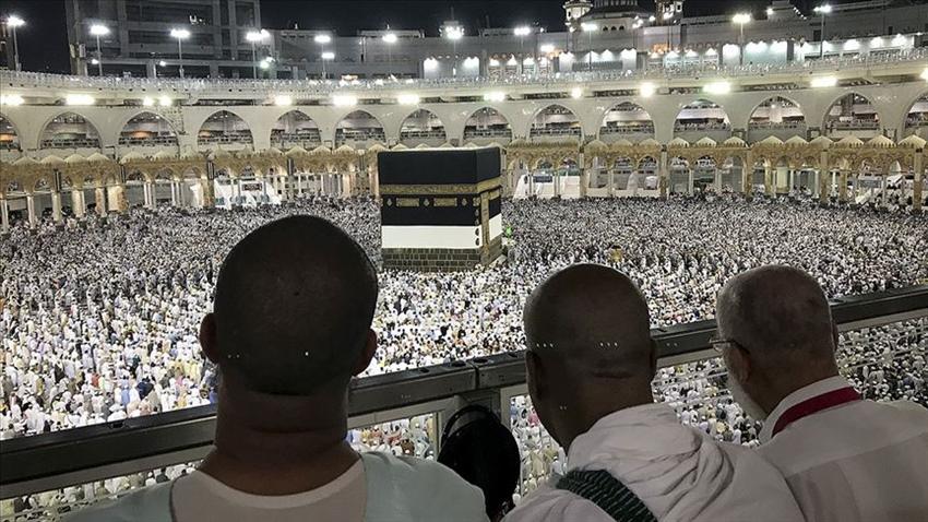 Kurban Bayramı'nda Kutsal topraklardaki yaklaşık 3 milyon Müslüman daha hacı oldu
