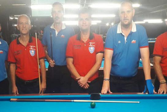 Avrupa Senyörler Bilardo Şampiyonasına katılan KKTC Masterleri, başarılı sonuçlara imza attılar