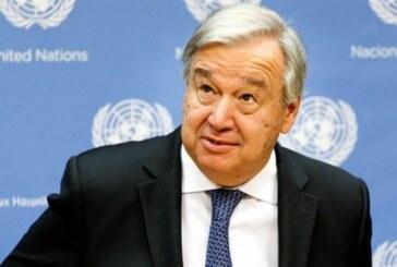 BM Genel Sekreteri: Referans kavramları üzerinde hızlı bir anlaşmaya varılmalı