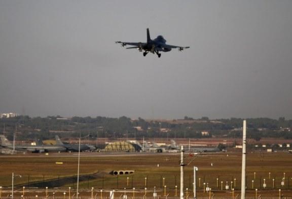 Türk  savaş uçakları Barış Pınarı Harekatı'nda 30 kilometre derinliğe girdi
