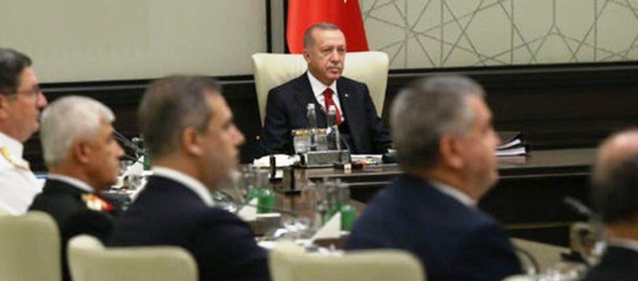 Türkiye MGK toplantısında Doğu Akdeniz'deki gelişmeler ele aldı
