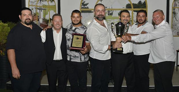 Darts yaz liginde ödüller verildi
