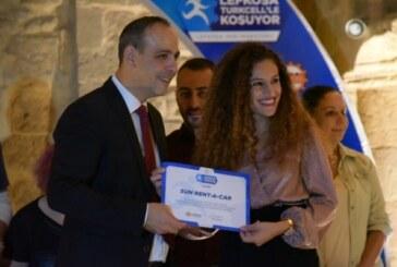 Lefkoşa Turkcell'le Koşuyor Maratonu'nun Ödül Töreni gerçekleştirildi
