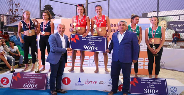 Merve, Balkan Şampiyonu