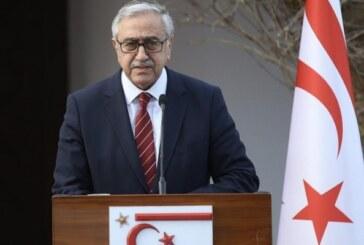 Akıncı: Kıbrıs Türk halkının çıkarları ve geleceği için söz söylemeye ve uğraş vermeye devam edeceğim