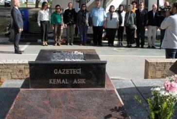 Kemal Aşık, 30. ölüm yıldönümünde anıldı