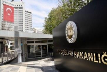 Türkiye Dışişleri Bakanlığı: Türkiye'nin Doğu Akdeniz'de geri adım atmasını ummak beyhudedir