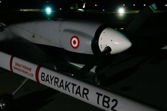 Türkiye'den KKTC Geçitkale Havalimanı'na ilk İHA havalandı