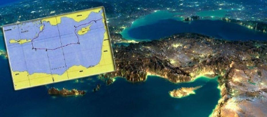 TC Dışişleri Bakanlığı Türkiye'nin Doğu Akdeniz'deki kıta sahanlığı ve MEB sınırlarını paylaştı