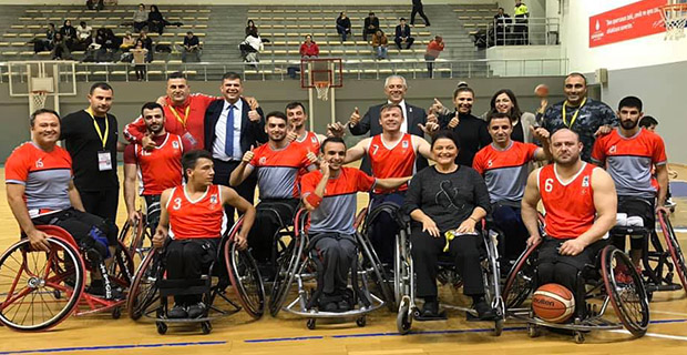 KKTC Engelliler 9.haftada maçında Pazar gecesi Tuzla Belediyesi'ni 30 sayı farkla 75-45 mağlup etti