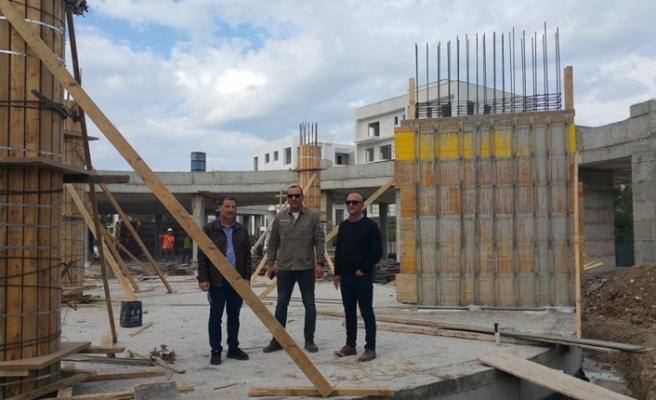 Müsteşar'dan çöken inşaatta inceleme