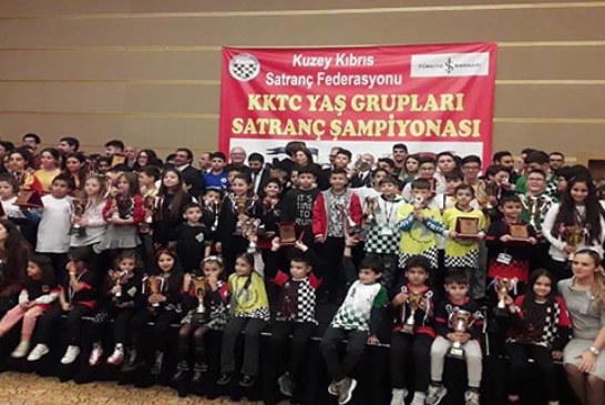 Satranç şampiyonları belirlendi