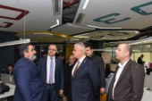 Taçoy, İstanbul'da İTÜ ARI Teknokent'i ziyaret etti
