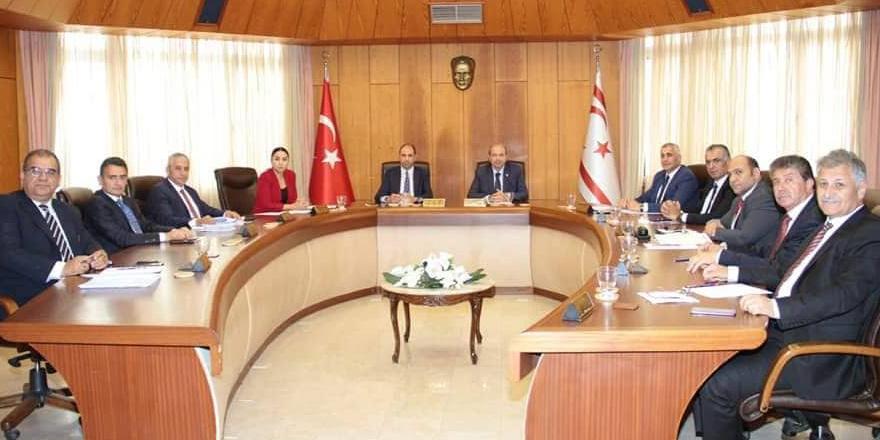 Bakanlar Kurulu, Başbakan Ersin Tatar başkanlığında toplandı