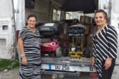 Londra Yardım Melekleri Üyesi Aydın Hassan'ın girişimiyle Kanser Hastalarına Yardım Derneği'ne yardım